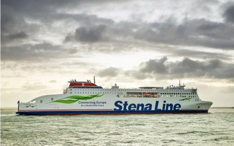 Stena Estrid już w Holyhead. Nowy prom Stena Line zadebiutuje już wkrótce - GospodarkaMorska.pl