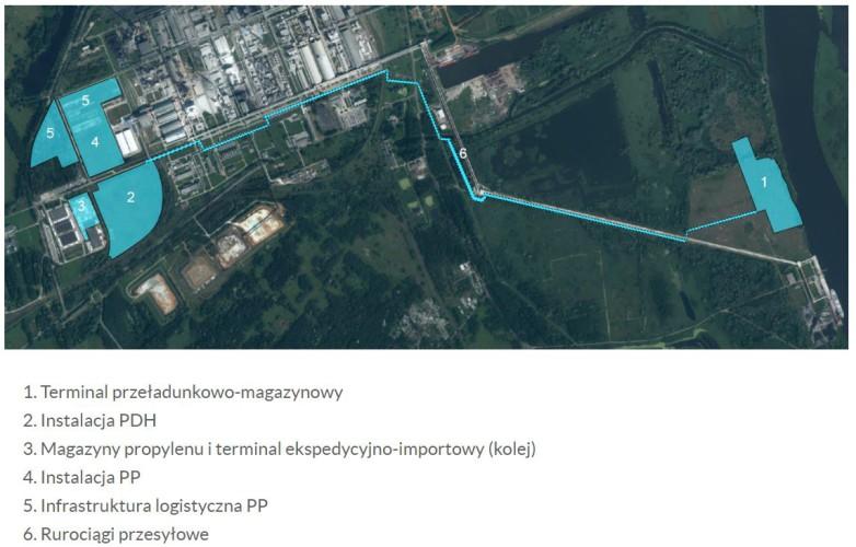 Przekazano plac pod budowę projektu Polimery Police - GospodarkaMorska.pl
