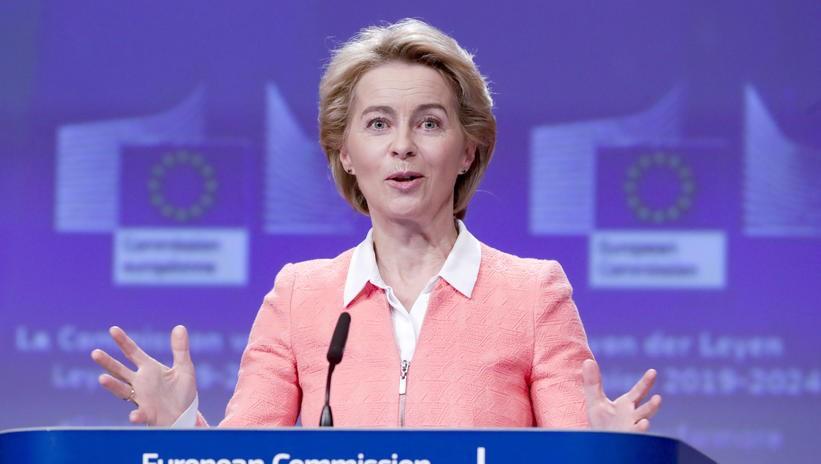 Von der Leyen ostrzega, że negocjacje ws. umowy handlowej będą trudne - GospodarkaMorska.pl
