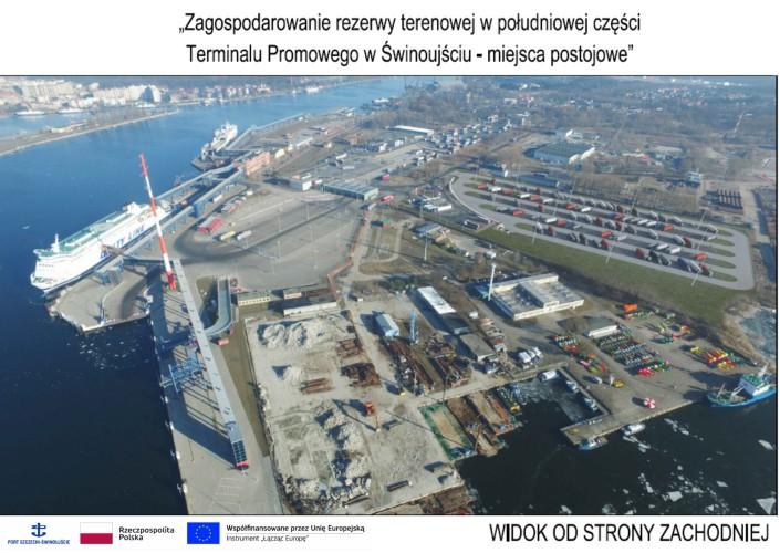 Inżynier kontraktu dla budowy nowego parkingu dla ciężarówek w Świnoujściu wybrany - GospodarkaMorska.pl