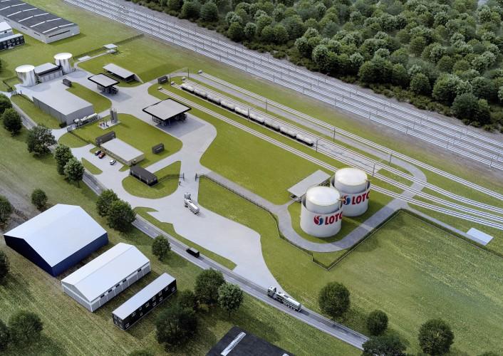 LOTOS inwestuje w rozwój terminala paliw w Piotrkowie Trybunalskim - GospodarkaMorska.pl