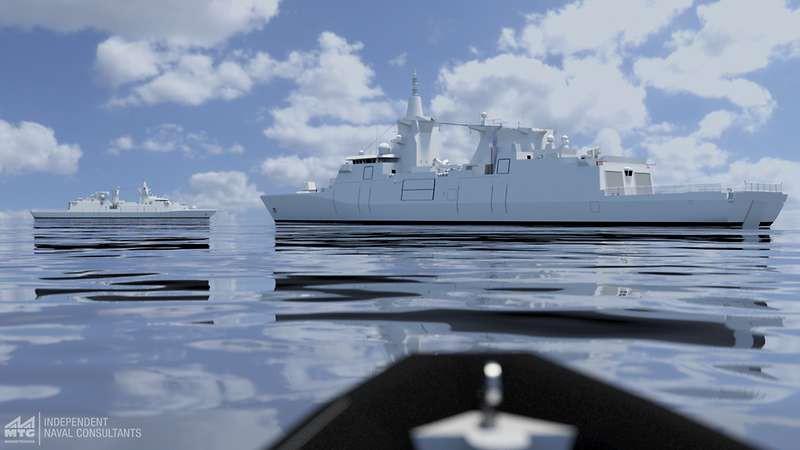 Damen wygrał kontrakt na budowę fregat MKS 180 dla Niemiec - GospodarkaMorska.pl