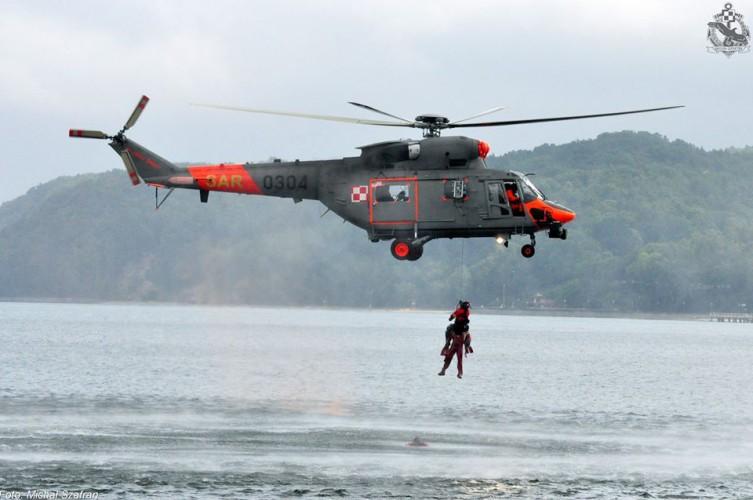 Pierwsza w tym roku akcja ratownicza Gdyńskiej Brygady Lotnictwa Marynarki Wojennej - GospodarkaMorska.pl