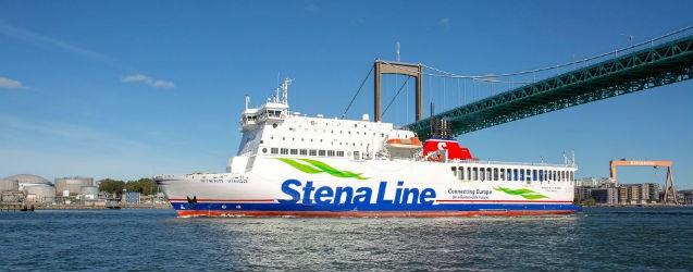Stena Vinga tymczasowo na trasie Gdynia-Karlskrona - GospodarkaMorska.pl