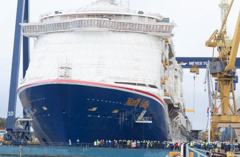 Pierwszy amerykański wycieczkowiec z napędem LNG zwodowany - GospodarkaMorska.pl
