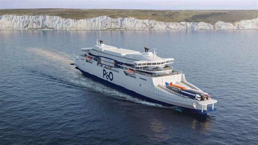 Tak będą wyglądały nowe promy P&O Ferries na trasie Dover-Calais - GospodarkaMorska.pl