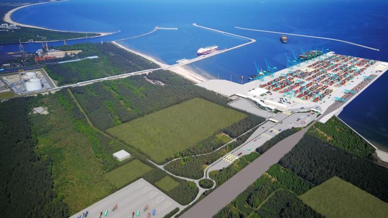 Zarząd Morskich Portów Szczecin i Świnoujście szuka chętnych do wybudowania głębokowodnego terminala kontenerowego - GospodarkaMorska.pl