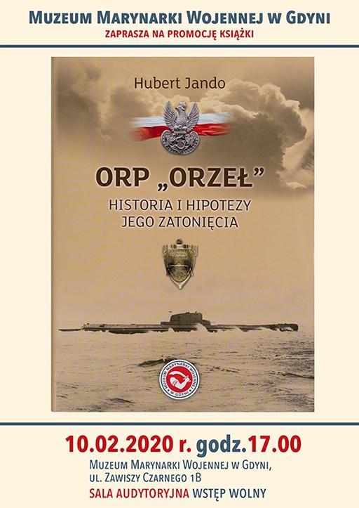 "Promocja książki Huberta Jando ""ORP Orzeł - historia i hipotezy jego zatonięcia"" - GospodarkaMorska.pl"