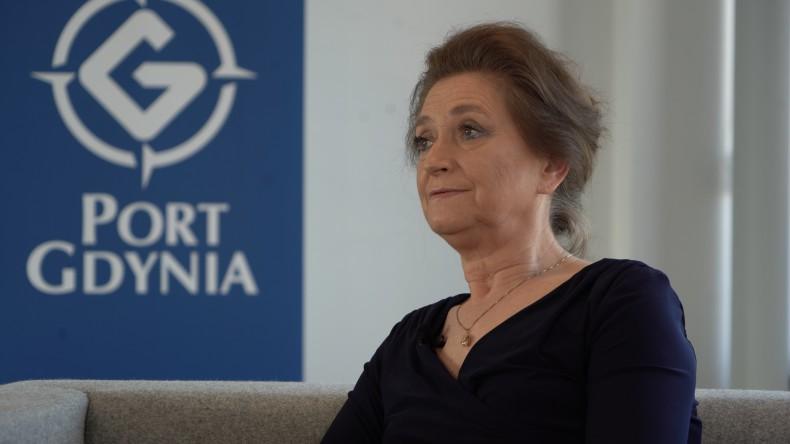 """Wnuczka inż. Tadeusza Wendy: """"Moją rodziną jest również rodzina portowa"""" (wywiad wideo) - GospodarkaMorska.pl"""