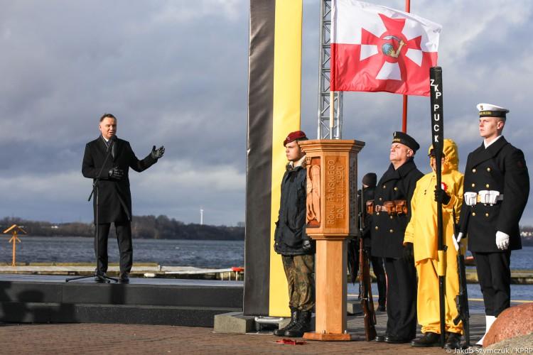 Prezydent: powrót Polski nad morze - jedno z wydarzeń, które ukształtowały Polskę - GospodarkaMorska.pl