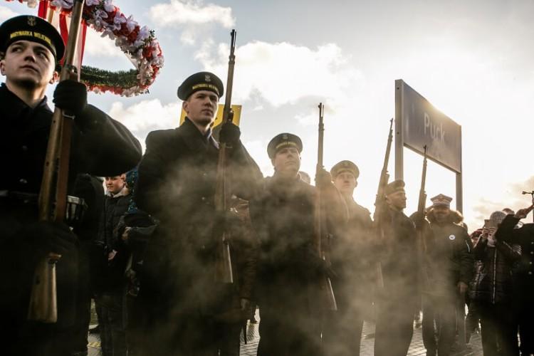Pociąg z generałem Hallerem już w Pucku - GospodarkaMorska.pl