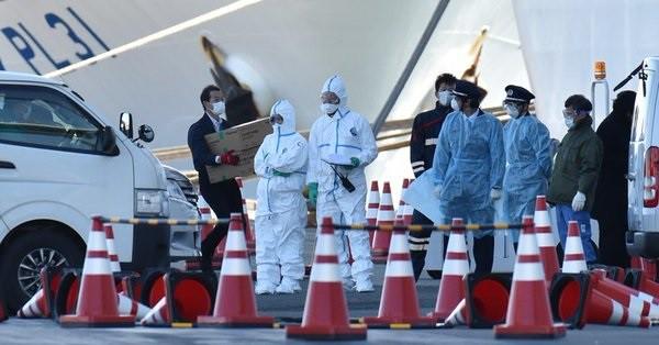 67 kolejnych osób zakażonych koronawirusem na wycieczkowcu Diamond Princess w Japonii - GospodarkaMorska.pl