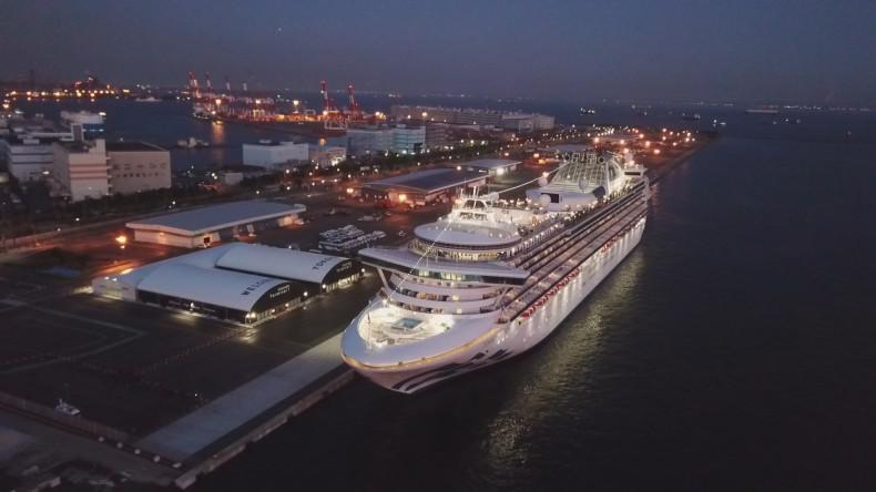 USA: ponad 40 Amerykanów na wycieczkowcu Diamond Princess zakażonych koronawirusem - GospodarkaMorska.pl