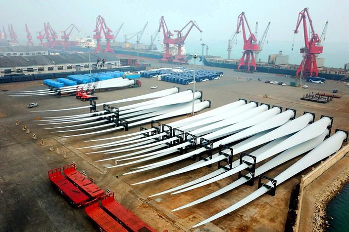 Recesja na rynku energetyki wiatrowej w Chinach - GospodarkaMorska.pl