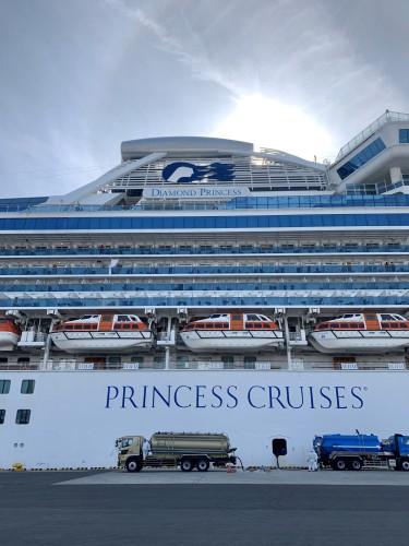 Zmarło dwoje byłych pasażerów statku Diamond Princess - GospodarkaMorska.pl