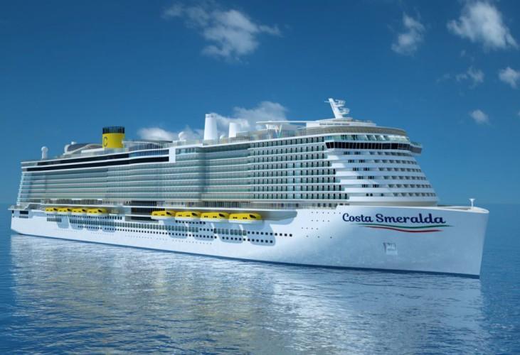 Najnowszy napędzany LNG wycieczkowiec Costa Cruises ochrzczony w Savonie - GospodarkaMorska.pl