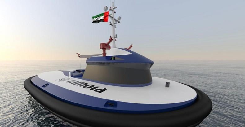 Pierwszy na świecie autonomiczny holownik dla Portu Abu Dhabi? - GospodarkaMorska.pl