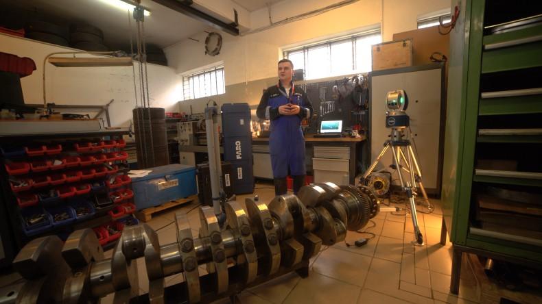 Rolls Royce wśród laserów w NGL Machining (foto, wideo) - GospodarkaMorska.pl