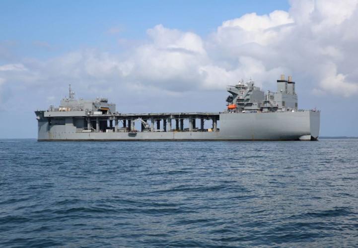Do amerykańskiej marynarki trafił nowy okręt specjalistyczny (wideo) - GospodarkaMorska.pl