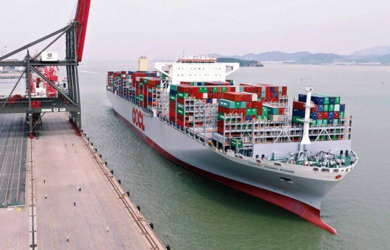 OOCL zamówił pięć gigantycznych kontenerowców - GospodarkaMorska.pl