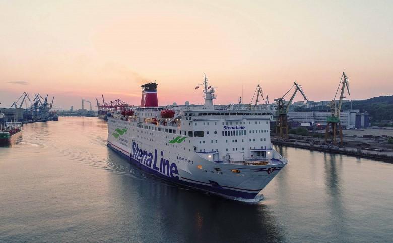Ruch pasażerski na statkach Stena Line z Gdyni do Karlskrony utrzymany - GospodarkaMorska.pl