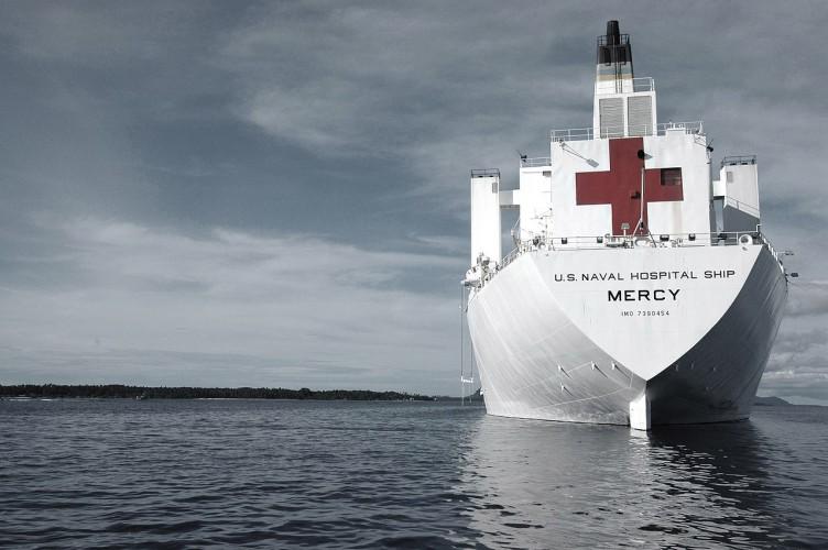 Szef Pentagonu nakazał marynarce wojennej przygotowanie okrętów szpitalnych - GospodarkaMorska.pl