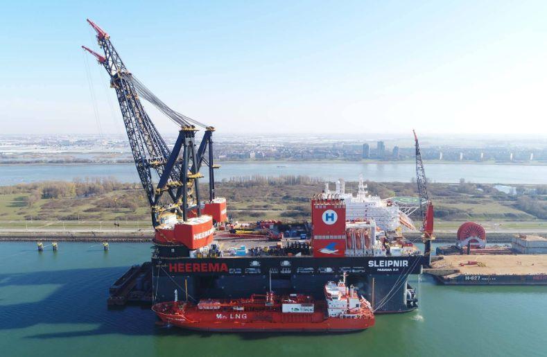 Sleipnir zakończył największą w historii operację bunkrowania LNG - GospodarkaMorska.pl
