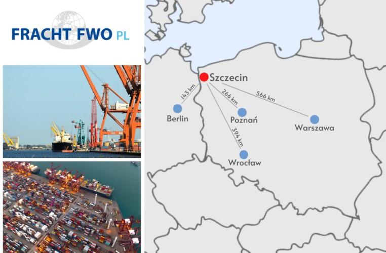 Fracht FWO Polska otwiera oddział w pobliżu terenów portowych Szczecinie - GospodarkaMorska.pl