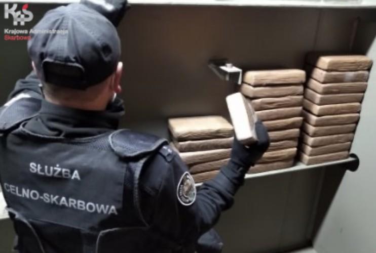 Udaremniony przemyt 60 kg kokainy w porcie w Gdańsku i w Rotterdamie - GospodarkaMorska.pl