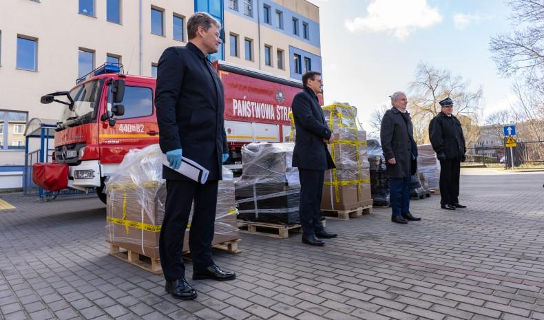 Port Gdańsk aktywnie wspiera walkę z koronawirusem (foto, wideo) - GospodarkaMorska.pl