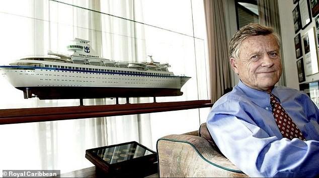 Założyciel Royal Caribbean Cruises zmarł w wieku 90 lat - GospodarkaMorska.pl