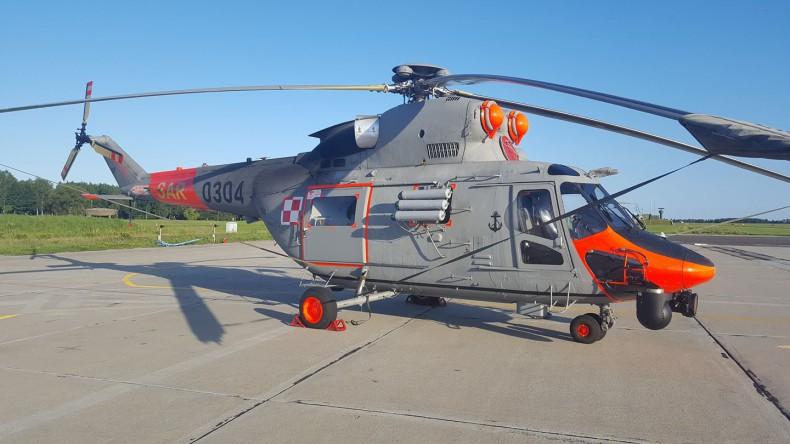 Polski śmigłowiec SAR udzielił pomocy na Bałtyku zgodnie z zasadami przeciwdziałania SARS-CoV-2 - GospodarkaMorska.pl
