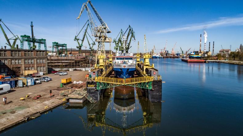 W Baltic Engineering zakończono remont statku badawczego r/v Baltica (foto, wideo) - GospodarkaMorska.pl