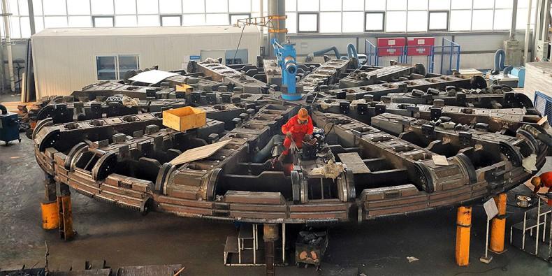 Mimo epidemii, w Chinach trwa budowa maszyny do drążenia tunelu w Świnoujściu - GospodarkaMorska.pl