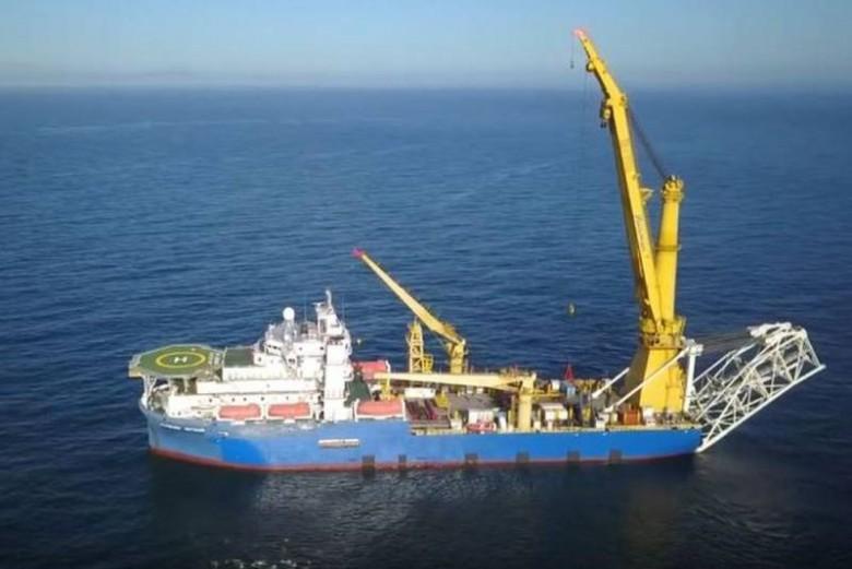 RIA: statek, który może ułożyć Nord Stream 2, płynie do Kaliningradu - GospodarkaMorska.pl