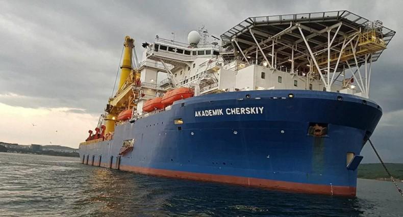 Statek, który może ukończyć Nord Stream 2, jest w Kaliningradzie - GospodarkaMorska.pl