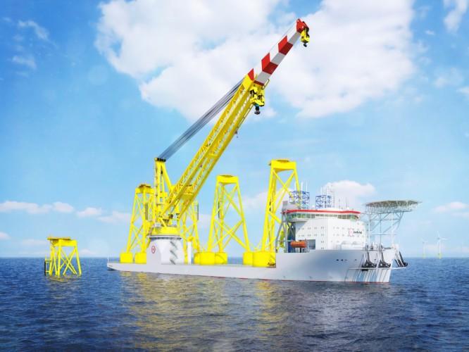 Silniki MAN dla statku do instalacji morskich turbin wiatrowych nowej generacji - GospodarkaMorska.pl