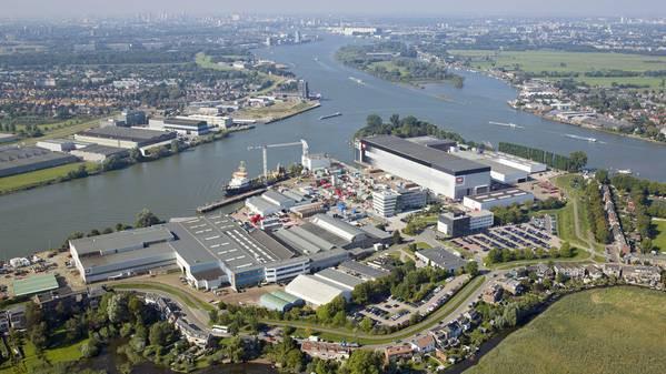 Holenderski rząd wesprze swoją stocznię kwotą 435 mln dolarów - GospodarkaMorska.pl