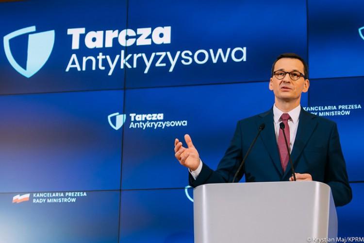 Morawiecki: w ramach tarczy PFR do 50 tys. firm popłynęło już 10 mld zł w formie subwencji - GospodarkaMorska.pl