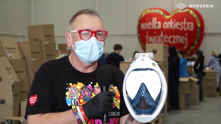 Przerobione maski do nurkowania będą chronić pracowników medycznych - GospodarkaMorska.pl