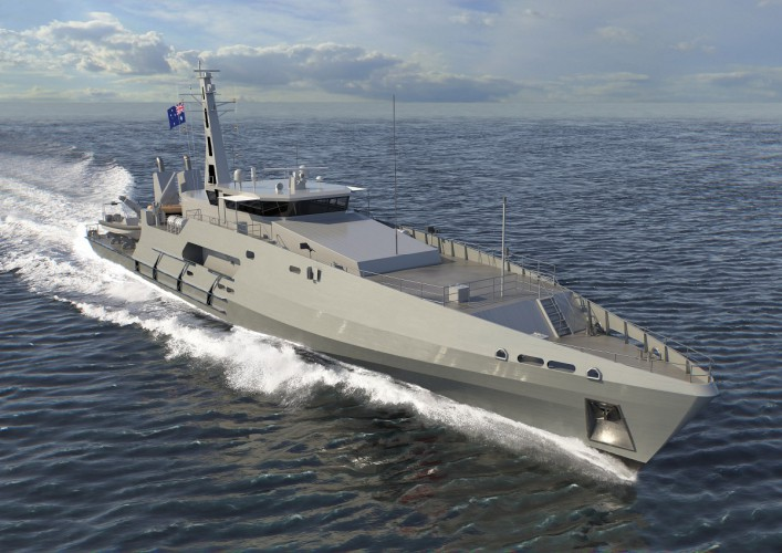 Austal Australia z kontraktem na sześć okrętów dla Royal Australian Navy - GospodarkaMorska.pl