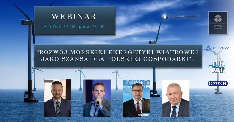 Webinar: Rozwój morskiej energetyki wiatrowej jako szansa dla polskiej gospodarki - GospodarkaMorska.pl