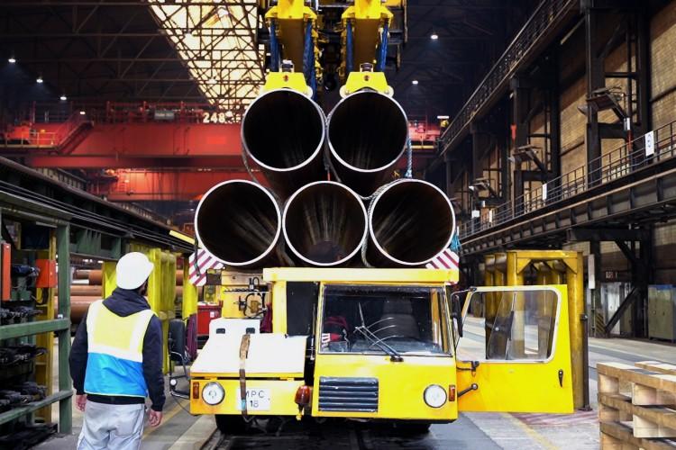 Powstały pierwsze rury na potrzeby podmorskiej części BalticPipe - GospodarkaMorska.pl