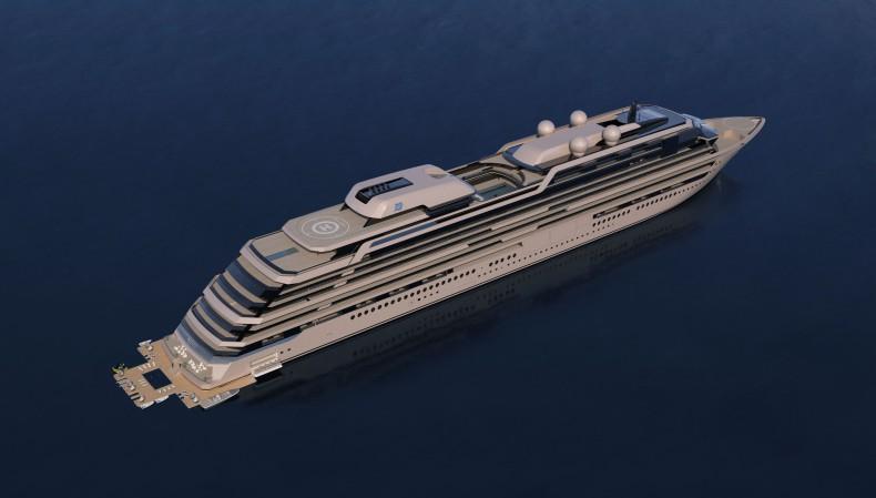 Stocznie DIV Shipbuilding w Norwegii i Chorwacji zbudują spektakularny statek pasażerski - GospodarkaMorska.pl