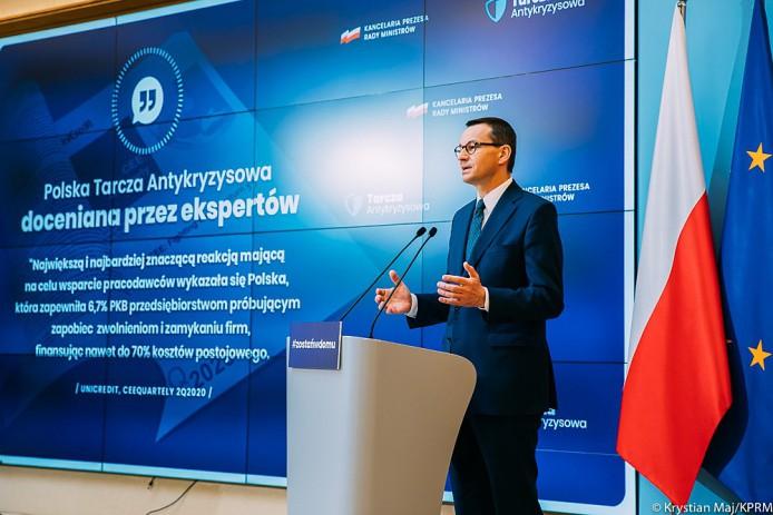 W ramach tarczy antykryzysowej do firm trafiło blisko 10 mld zł - GospodarkaMorska.pl