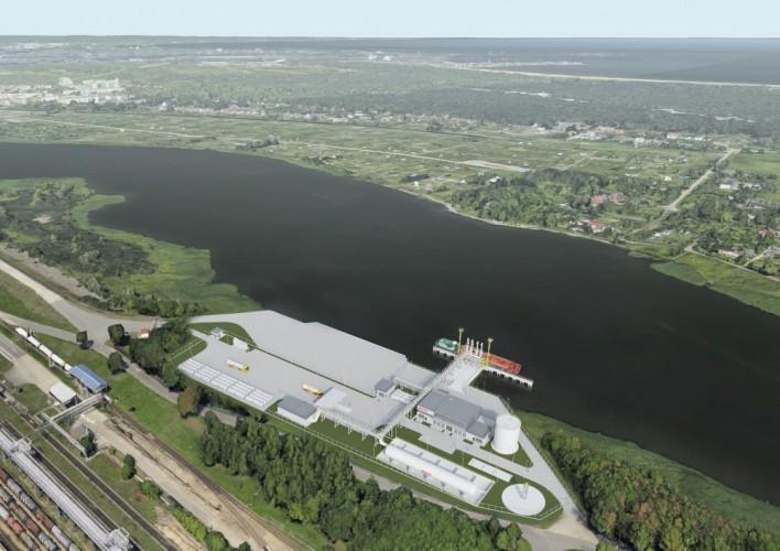 Budowa terminala LNG małej skali w Gdańsku wchodzi w kolejny etap - GospodarkaMorska.pl