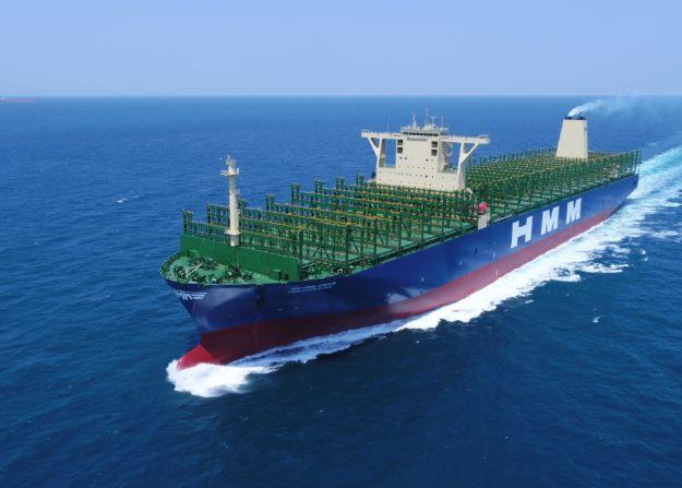 DSME dostarczyło kolejnego giganta kontenerowego dla HMM - GospodarkaMorska.pl