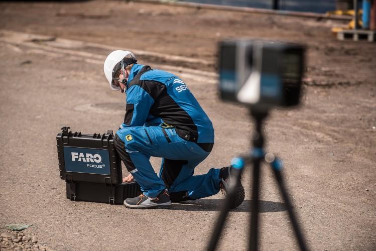 SEACON Engineering testuje skaner laserowy FARO Focus [foto] - GospodarkaMorska.pl