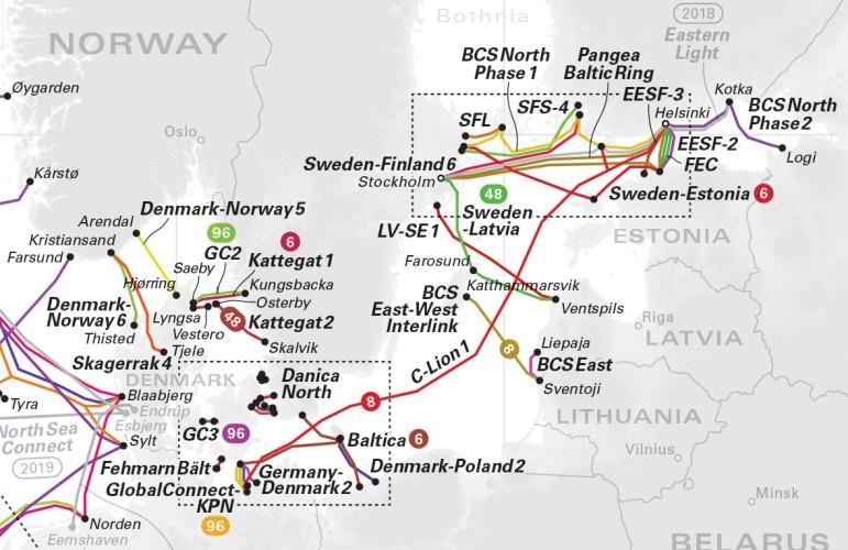 Litwa i Polska podpisały umowę ws. budowy podmorskiego kabla prądu stałego - GospodarkaMorska.pl