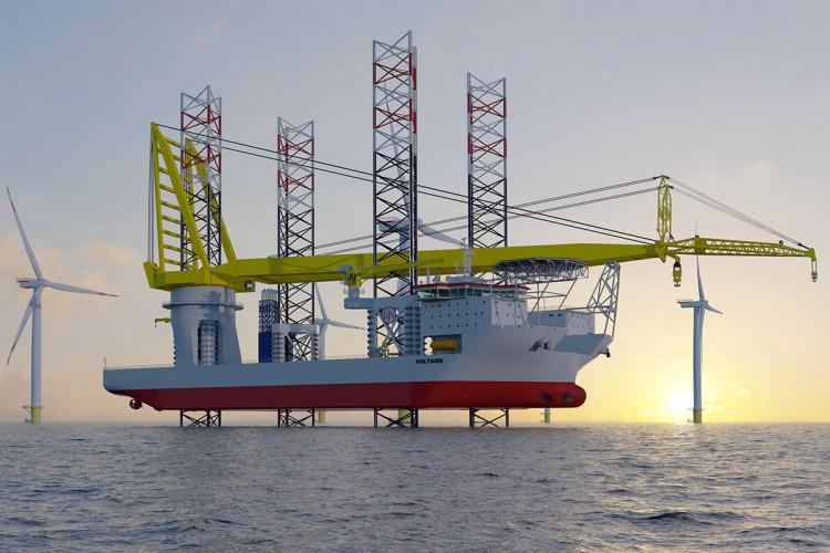 Rozpoczęła się budowa ogromnego statku instalacyjnego offshore dla Jan De Nul - GospodarkaMorska.pl